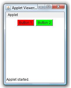 Change Button Background Color Example Java Examples Java Program Sample Source Code