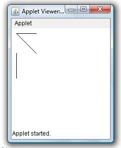 Draw Line In Applet Window Example Java Examples Java Program Sample Source Code
