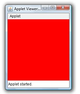 Set Background Color Of An Applet Window Example Java Examples Java Program Sample Source Code